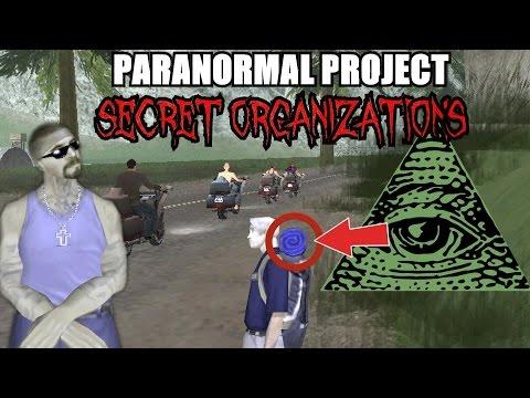 GTA San Andreas Myths . Secret Organizations - PARANORMAL PROJECT 55