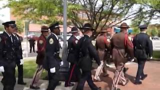 Community Focus Police Week Ceremony