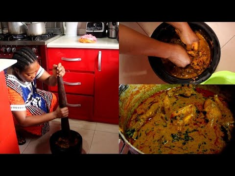 Download OFE AKWU: HOW TO MAKE Delicious OFE AKWU (BANGA SOUP)   NIGERIA'S BEST STEW   Join me in THE KITCHEN