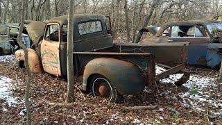 Abandoned Junkyard Truck And Car Graveyard New Jersey