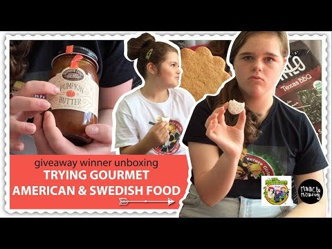 kids trying new foods | giveaway winner unboxing P2 (EP107)