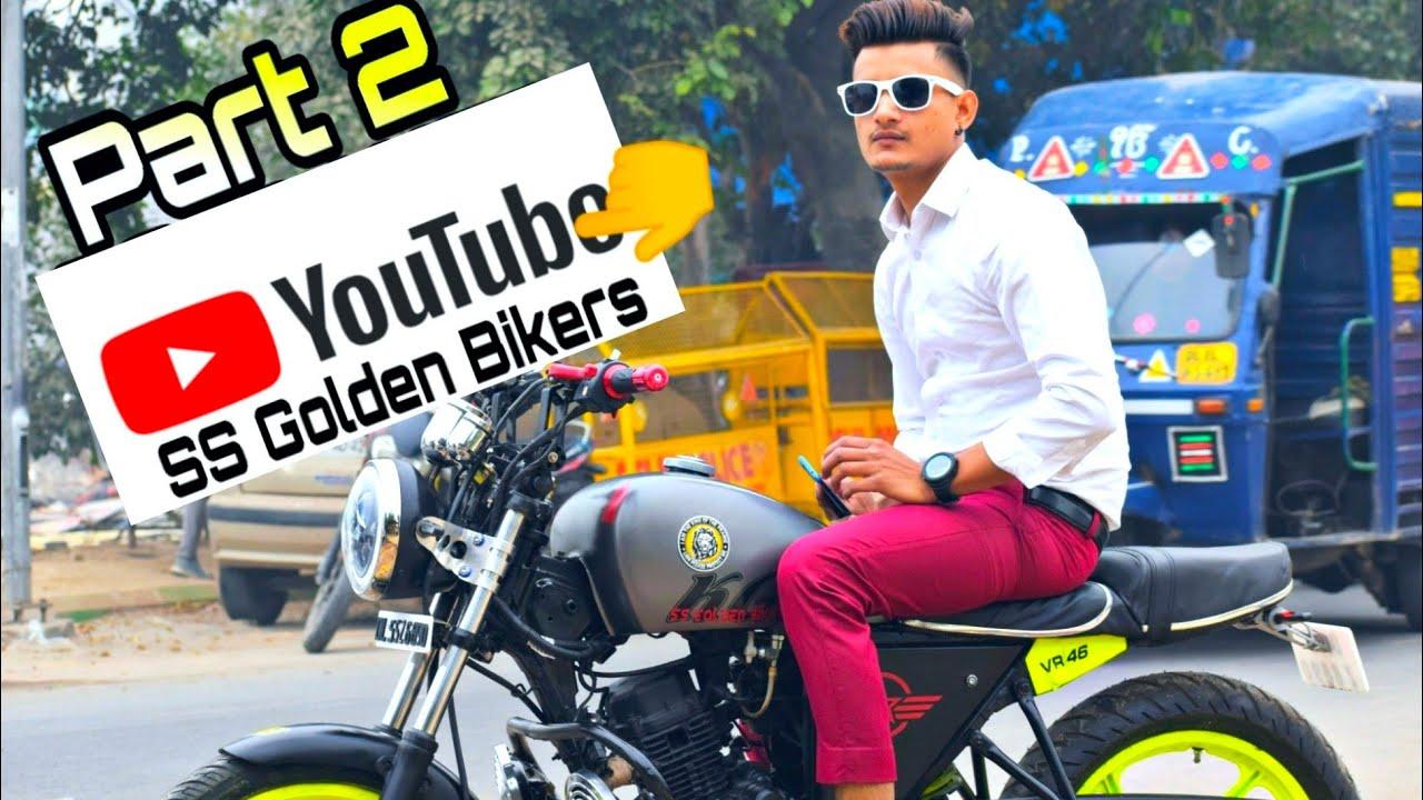Part 2 Bajaj Xcd 125 Custom Modification Hand Cafe Racer Youtube