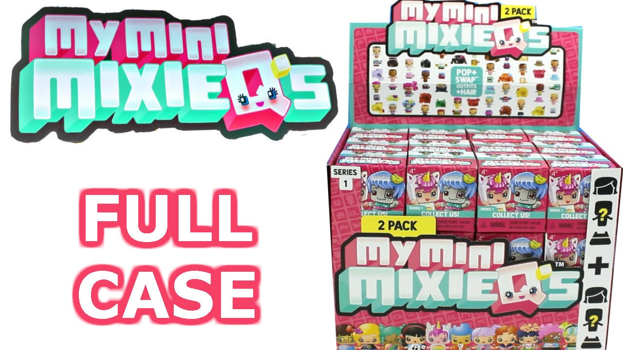 My mini mixie qs full case unboxing blind box opening entire case youtube