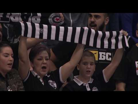 Bastian Schweinsteiger enjoying ABA League atmosphere in Belgrade (Partizan NIS - Union Olimpija)