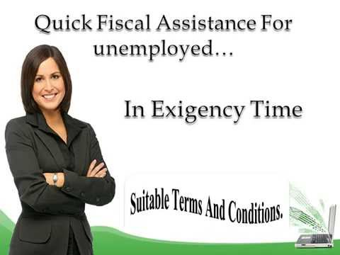 Loans For Unemployed People- Best Finance To Solve Your Unwanted Monetary Hassle