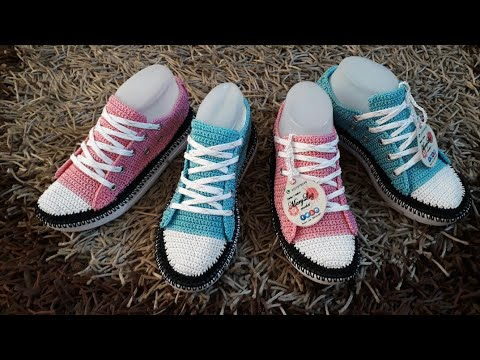 converse crochet mujer plataforma