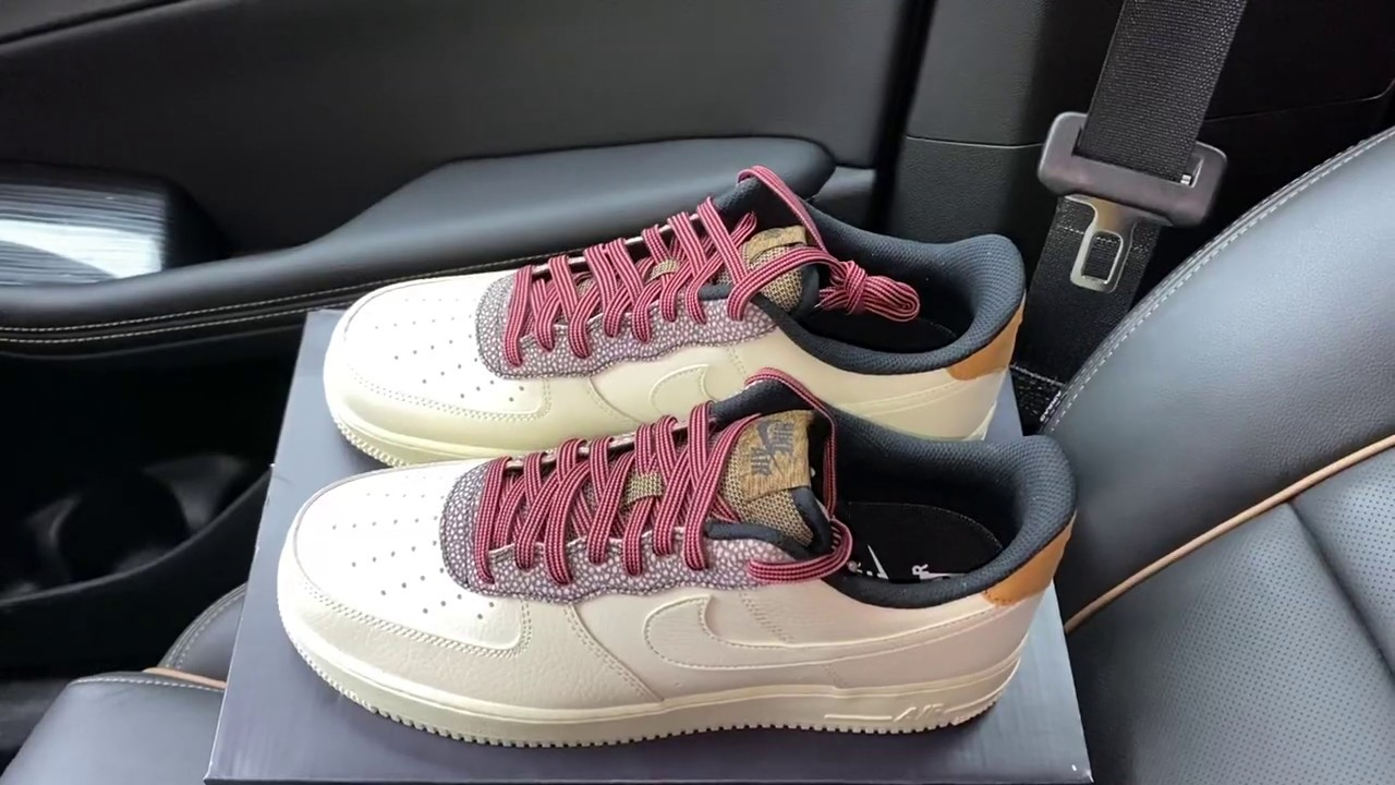 Nike Air Force 1 07 Lv8 Fossil Af1 Shoes Youtube