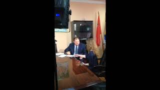 """Встреча с корреспондентом Первого канала, телепрограмма """"Доброе утро"""""""