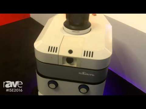 ISE 2016: Robot Security Systems Showcases Sam Security Robot
