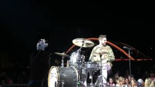 Thomas Rhett Plays Drums T-Shirt Ascend Amphitheater