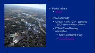 FEMA's Hurricane Matthew Disaster Journal; Contextualizing Response And Recovery Through A Public Da