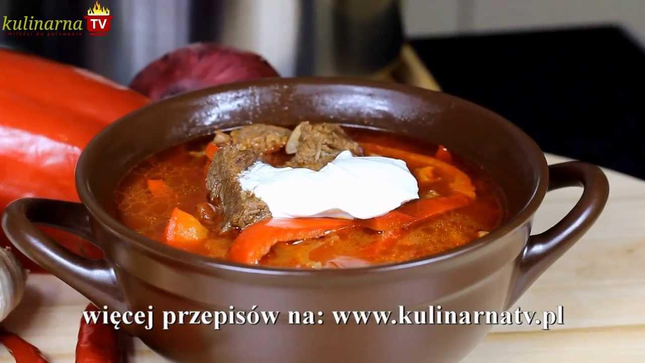 Przepis Na Węgierska Zupa Gulaszowa