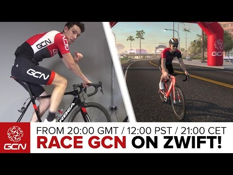 Race GCN On Zwift - Simon Richardson Versus You? | GCN