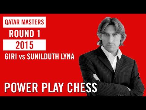 Qatar Master 2015 Round 1 Giri vs Sunilduth Lyna