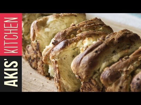 Feta Cheese Bread | Akis Kitchen