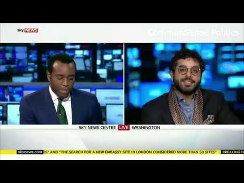 Raheem Kassam destroys Sky News politcal correctness SO FUNNY!!!!!