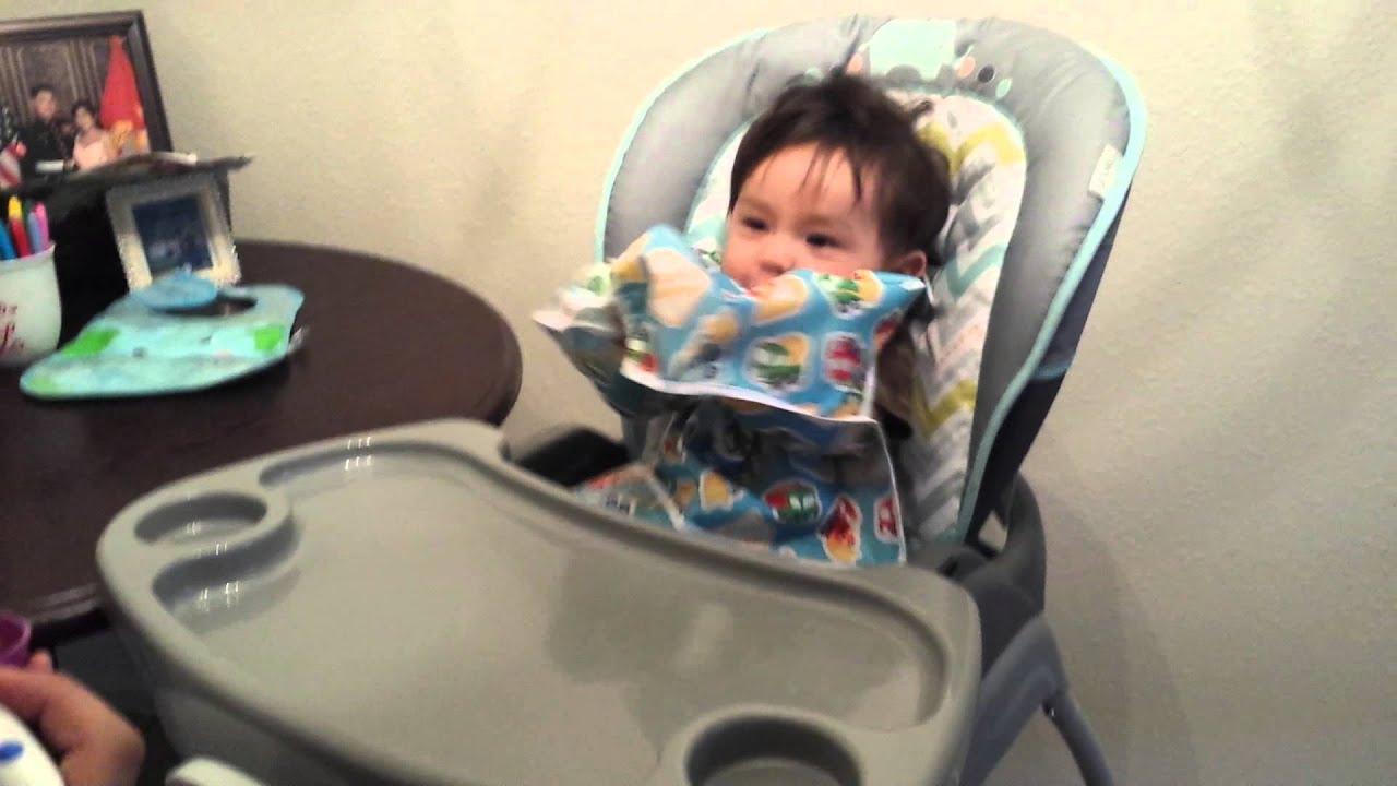 Baby straight jacket - YouTube