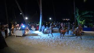Gala night entertainment at Dream of Zanzibar hotel