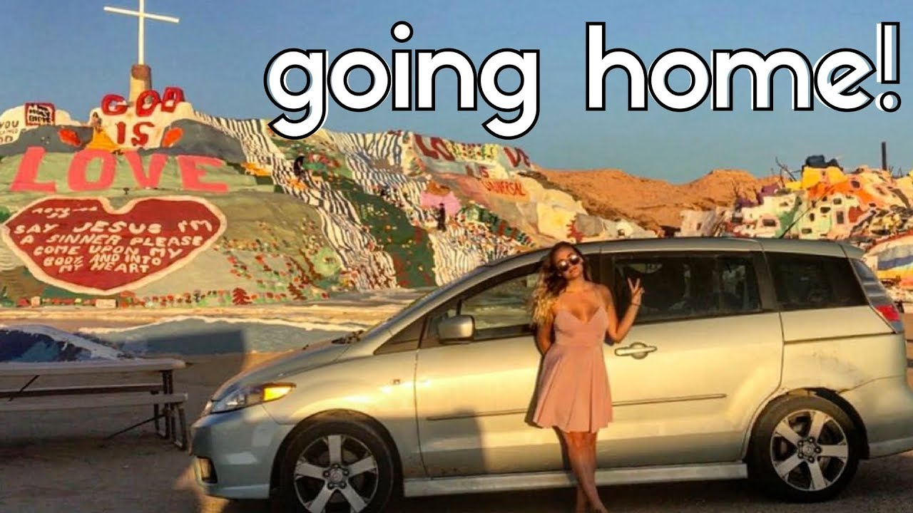 LIFE UPDATE // CAR DRAMA // from San Diego to SALVATION MOUNTAIN