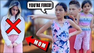 We FIRED Our Mom From Being Our MOM!! **NOT A PRANK** | Familia Diamond