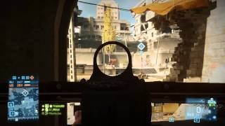 [Full Round] Battlefield 3: Aftermath PC Gameplay #002 - Conquest (Talah Market)