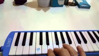 Melodİka ÖĞrenİyorum --3-- Dİyez - Bemol TuŞlari  I'm Learning Melodica Part