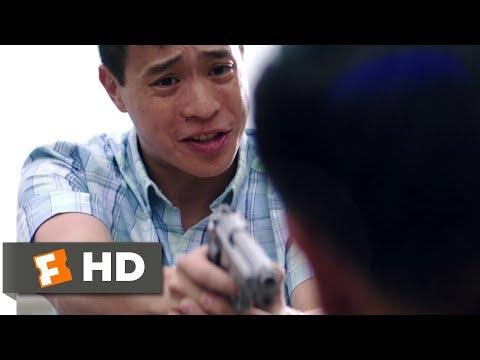 Truth or Dare (2018) - Taking a Cop's Gun Scene (7/10) | Movieclips