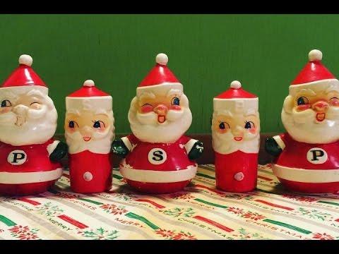 Great stuff magpieethel 39 s vintage christmas decorations youtube - Deco noel vintage ...