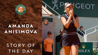 Story of the Day - Amanda Anisimova #7 | Roland-Garros 2019
