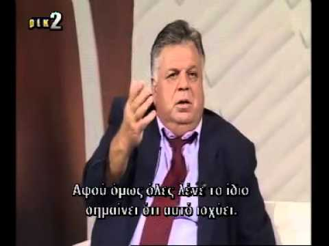 Dr Zeki Besiktepeli interview at Biz/Eμείς about Cyprus problem in relation to Natural Gas