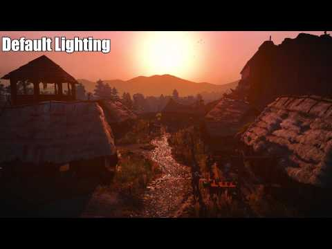 The Witcher 3 Mods - Default Lighting vs. Cutscene Lighting Mod