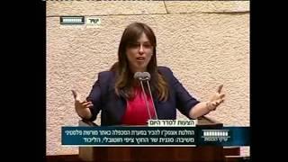 """סגנית שר החוץ ציפי חוטובלי לח""""כים הערבים: """"אתם גנבי ההיסטוריה היהודית"""""""