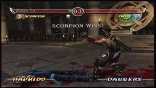 Mortal Kombat Deadly Alliance - Scorpion Arcade Ladder (XBOX)