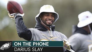 Darius Slay Discusses His Role on the Eagles' Defense & More | Eagles On the Phone