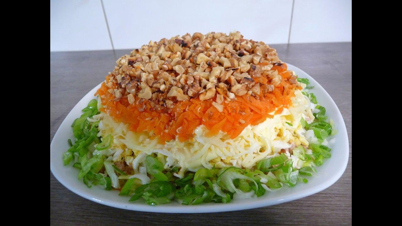 Салат с красного буряка