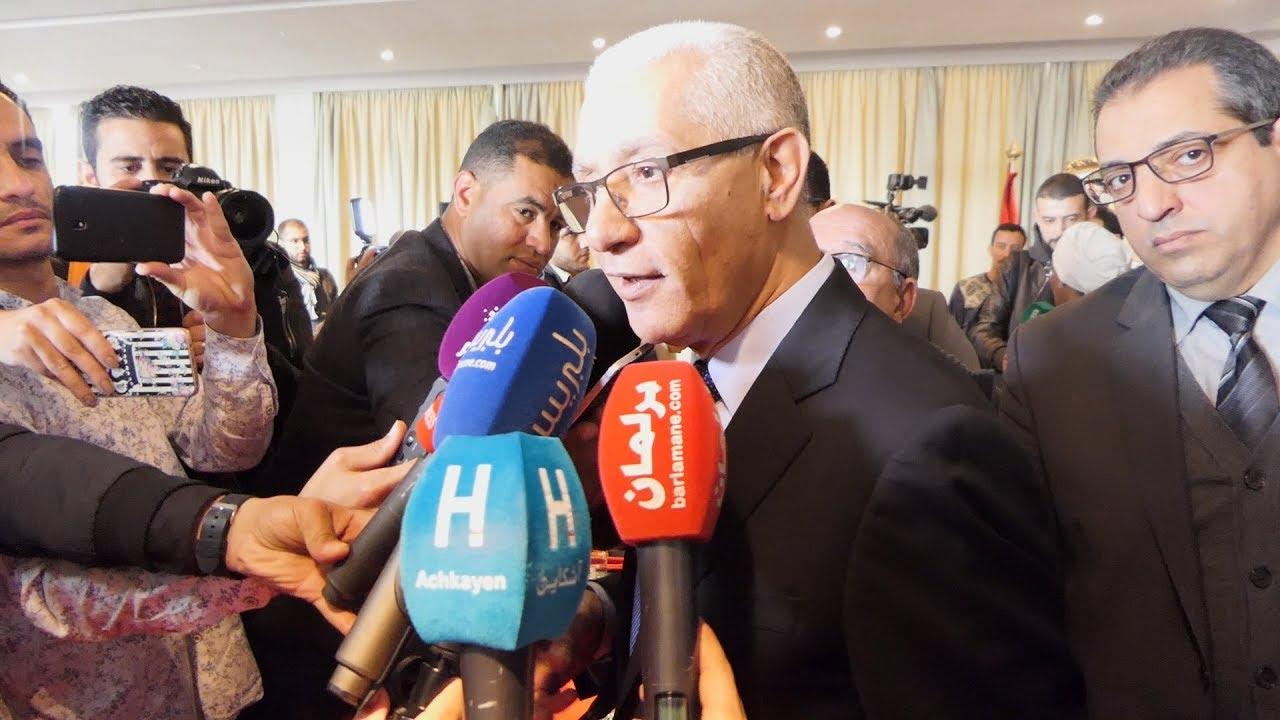 الطالبي العلمي يكشف تفاصيل تنظيم المغرب لتظاهرة رياضية إفريقية