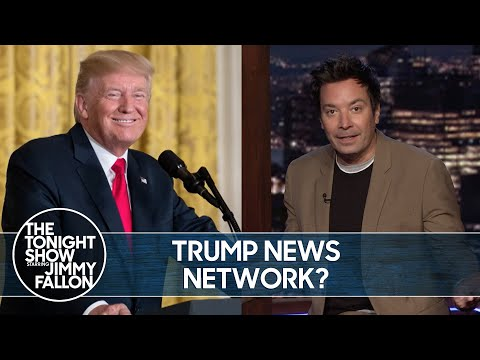 Trump Wants to Wreck Fox News with His Own Network | The Tonight Show