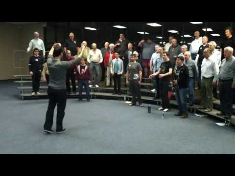 """Voices In Harmony """"1 121 12321 canon"""" warmup"""