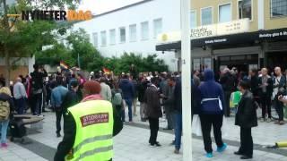 Demonstrerade mot Järva Pride – Blev misshandlad för att hen var homosexuell