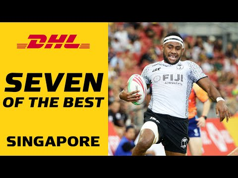 Seven of the best tries from Singapore