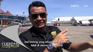 Pengawasan Area Pembongkaran di Bandara Ngurah Rai, Bali - Customs Protection