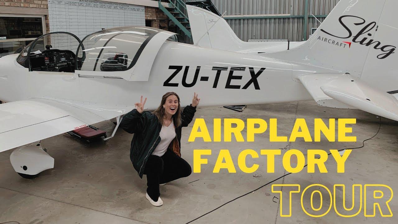 Sling Aircraft Factory Tour.
