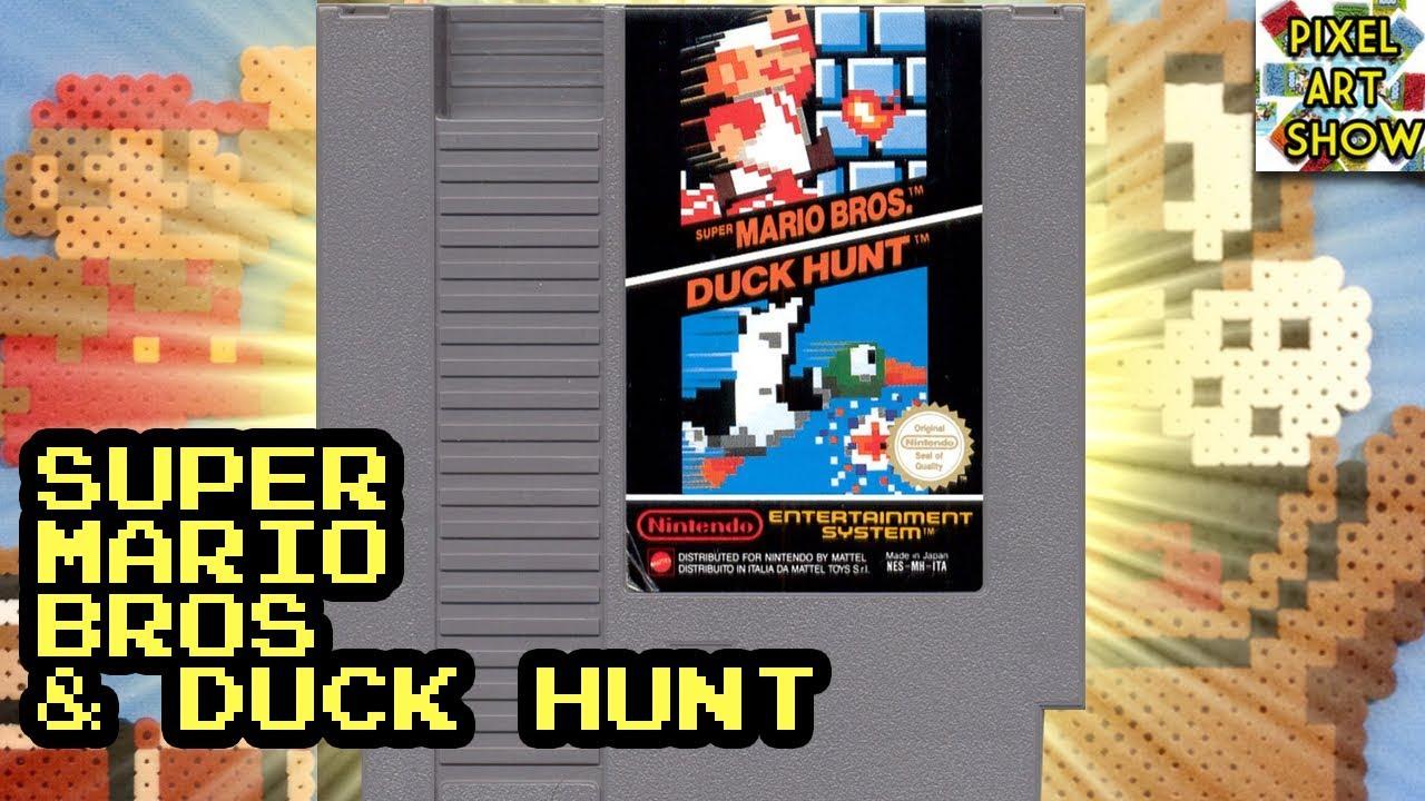 Pixel Art Perler Bead Sprite Duck Hunt Souvenirs