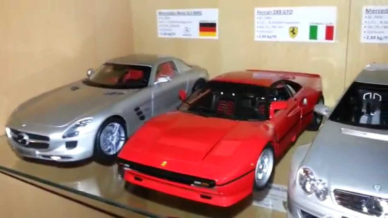 118 scale rare diecast model car collection of super sports cars