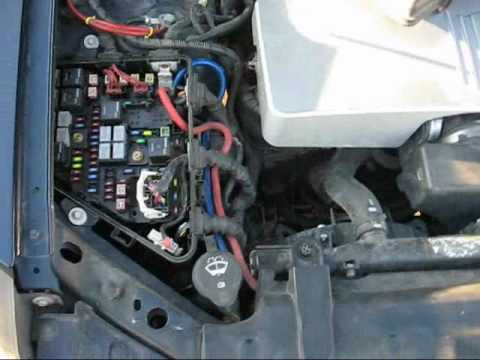 how to completely install a after market amp in a cadillac cts youtube 05 Cadillac CTS Relay Bas