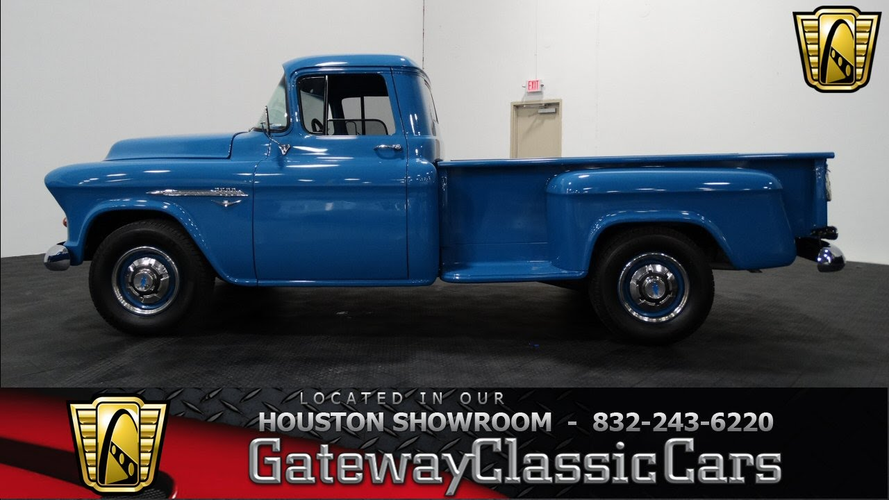 1955 Chevrolet 3600 - #299 - Gateway Classic Cars of Houston - YouTube
