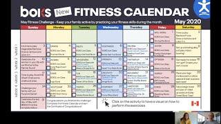 BOKS Canada - Fitness Calendar Tips Webinar
