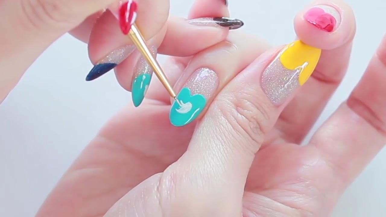 Nail Art Design (Social Media) Snapchat, Instagram, YouTube, Twitter ...