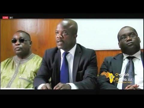 CNC Dissidence Conference de Presse Abidjan 24 Sept 2015