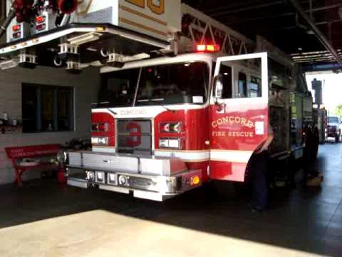 MONSTER FIRE TRUCK SIREN AND HORN